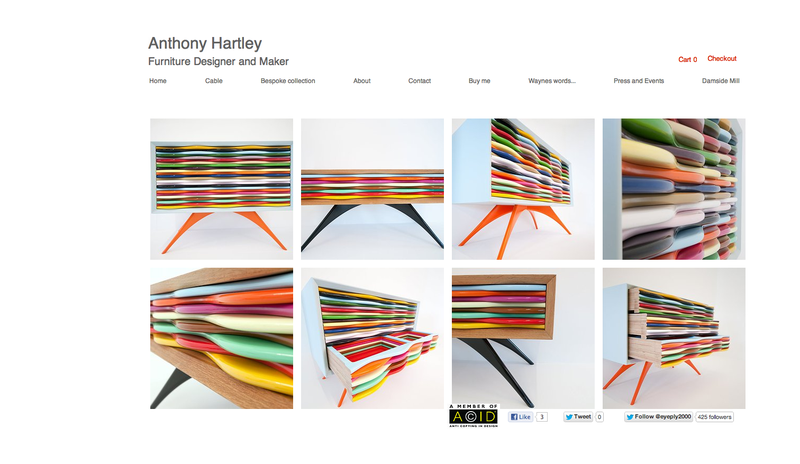 Anthony Hartley home page